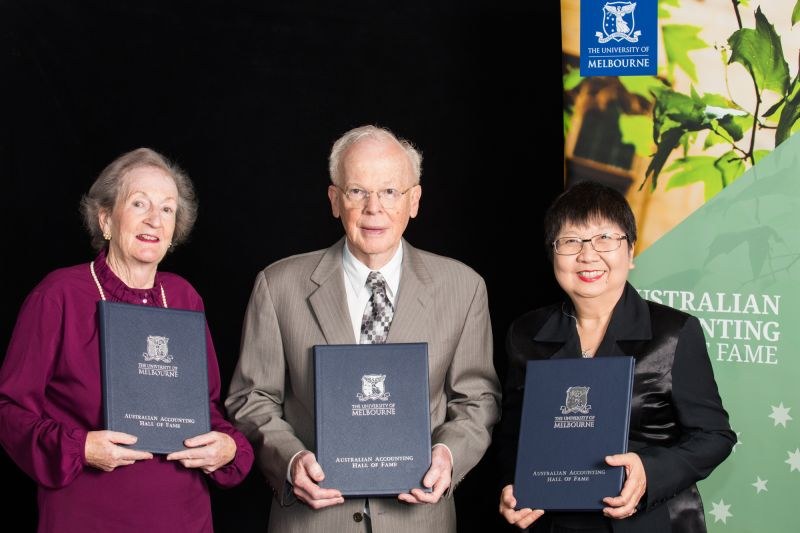 Accounting champions inducted into the Australian Accounting Hall of Fame