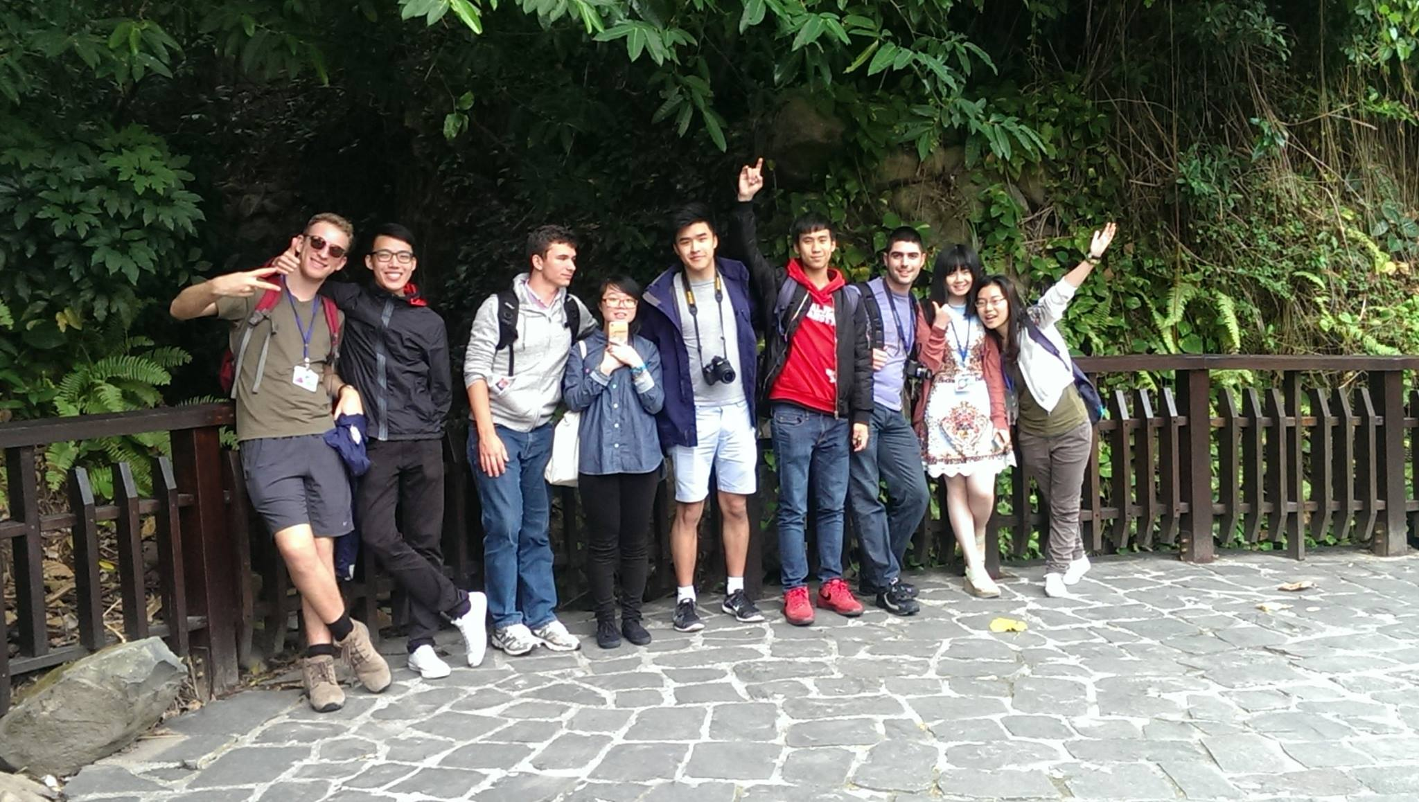 FBE students Beitou Valley