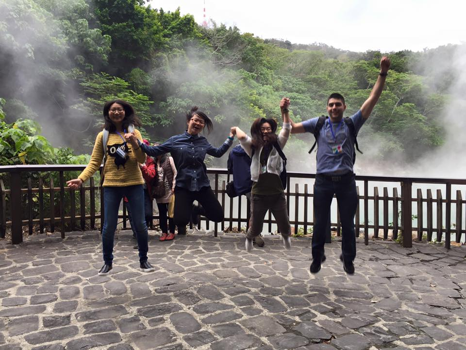 Students at Beitou Valley