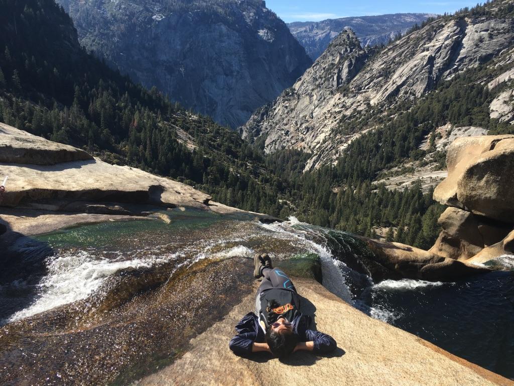 Hiking in Yosemite National Park, CA