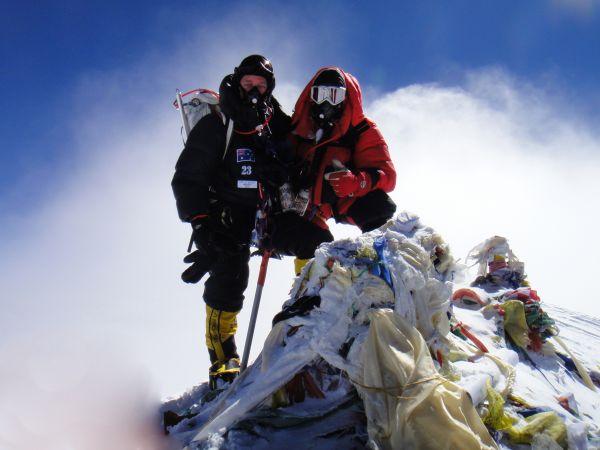 Paul Hameister Everest Summit