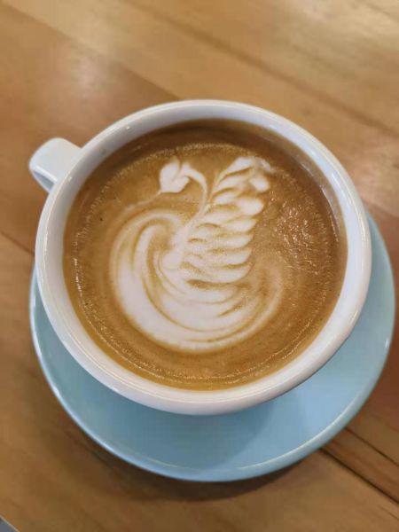 lucy liu latte art