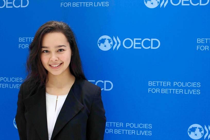 Sem 1 2016 recipient, Sabina Lim