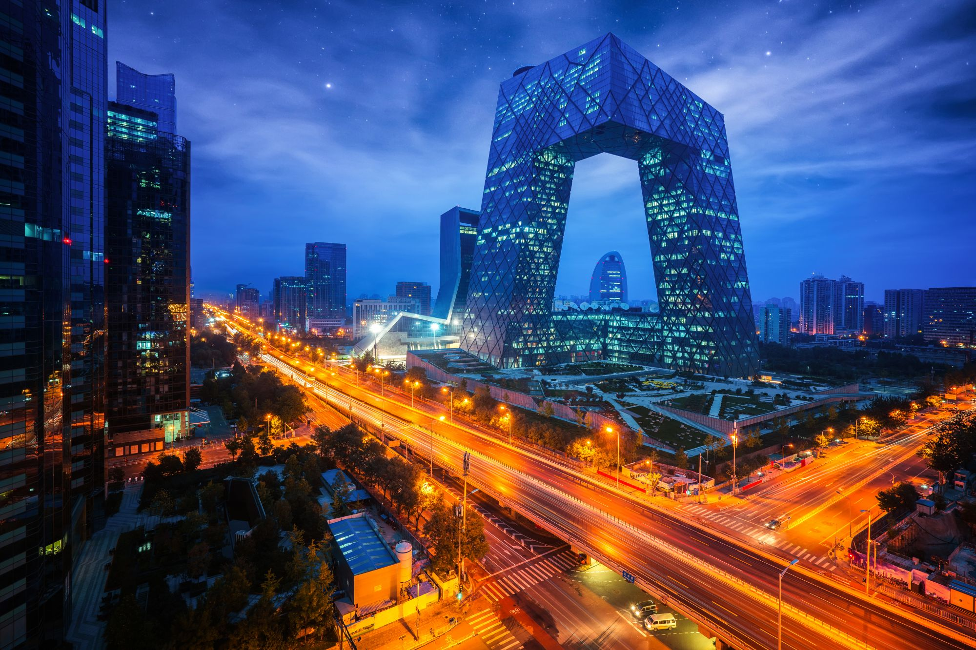 Tapping into Beijing's business network
