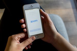 Zoom mobile App