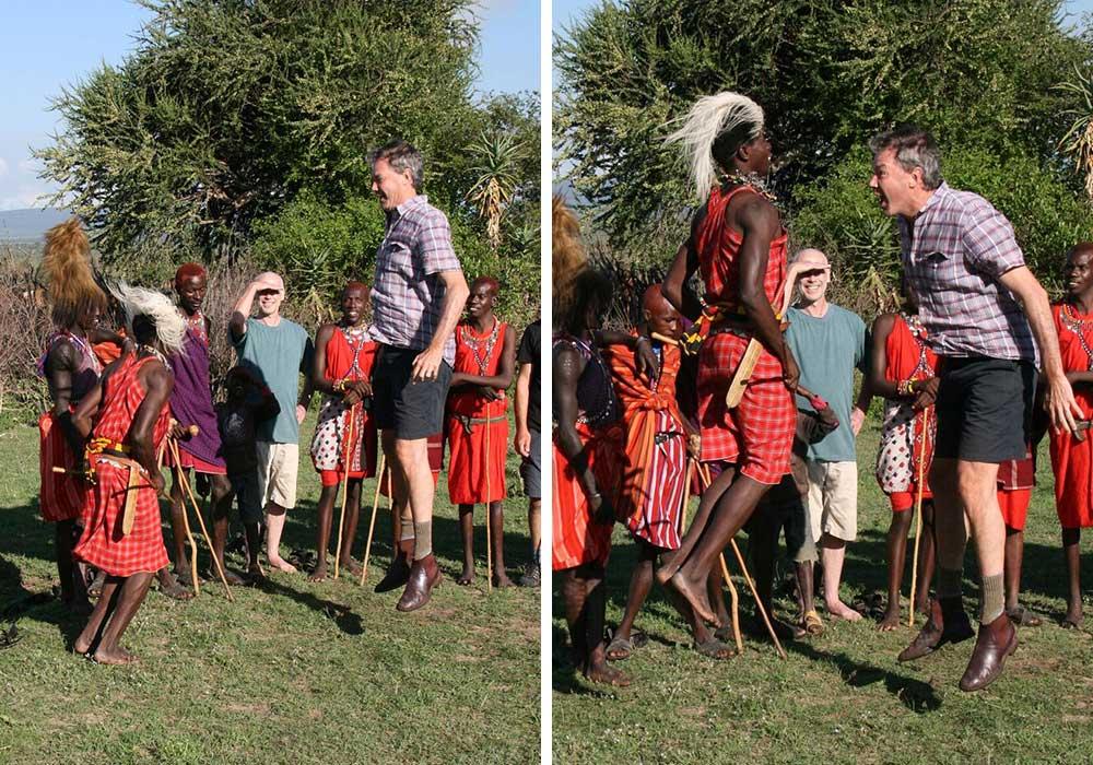 Darrell in Masai