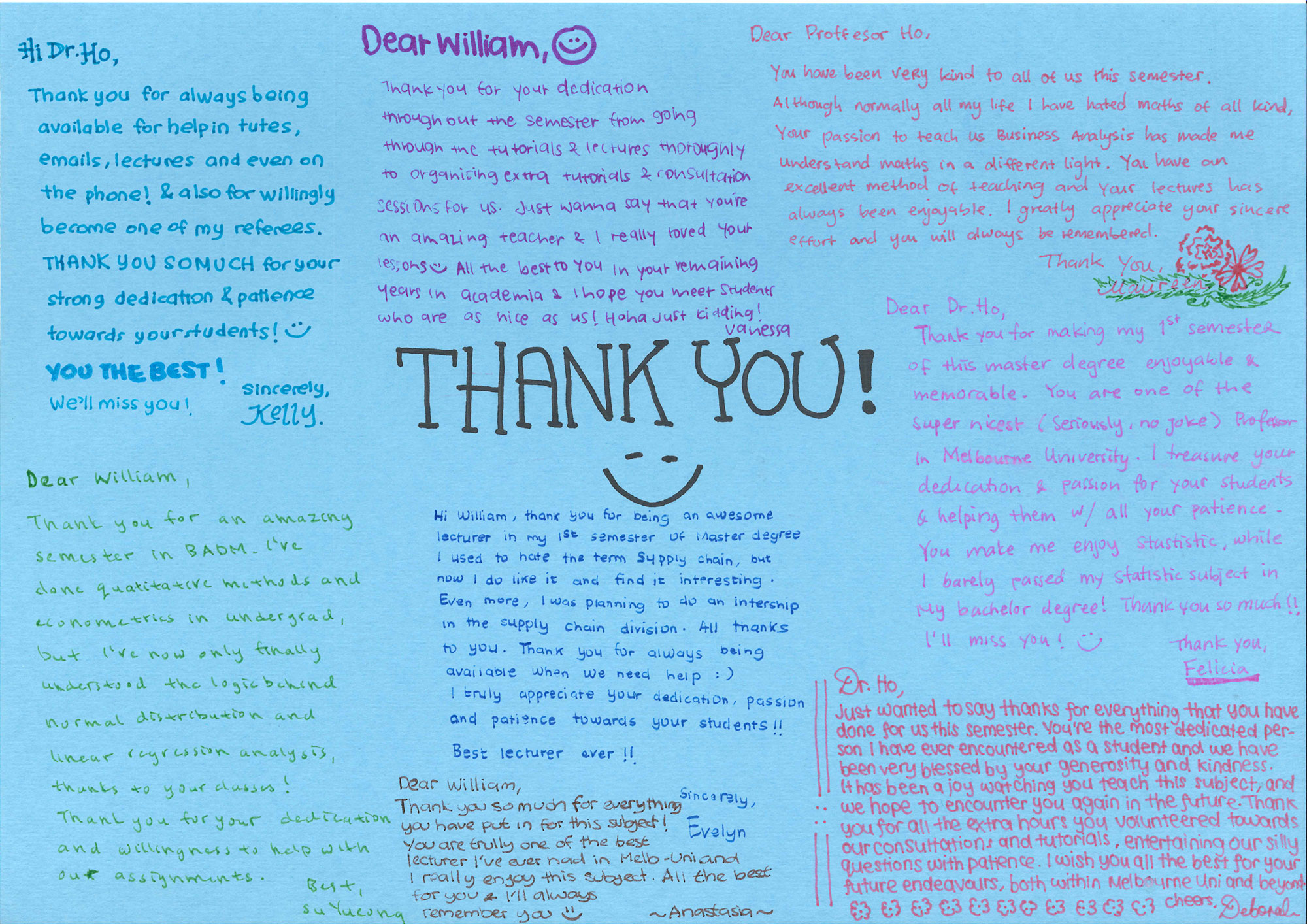 Student Thank You Card _ Back