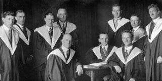 First BCom Graduates