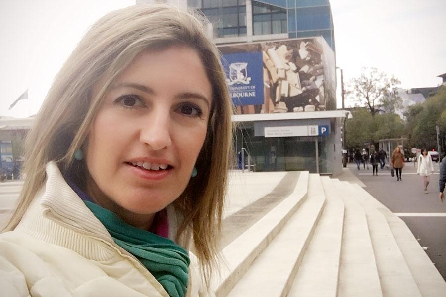 PhD student Ozlem Ozkok